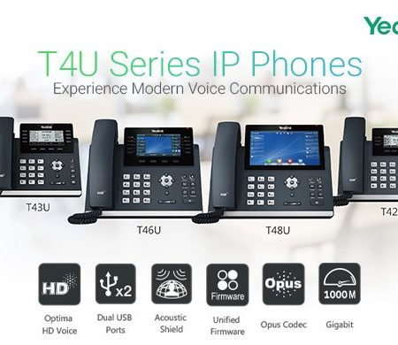 Telefoni VoIP Yealink T4x Series